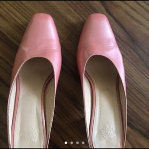 Maryam Nassir Zadeh Shoes - Maryam Nassir Zadeh Iridescent Pink Patent Leather